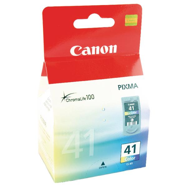 Canon CL-41 Colour Inkjet Cartridge 0617B001