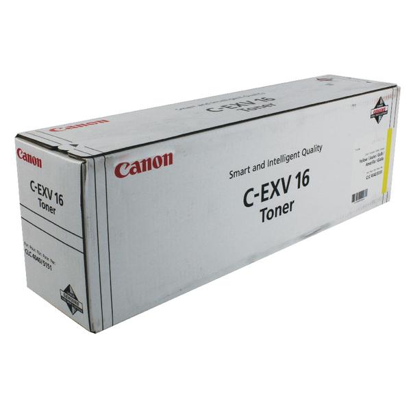 Canon C-EXV 16 Yellow Toner Cartridge 1066B002
