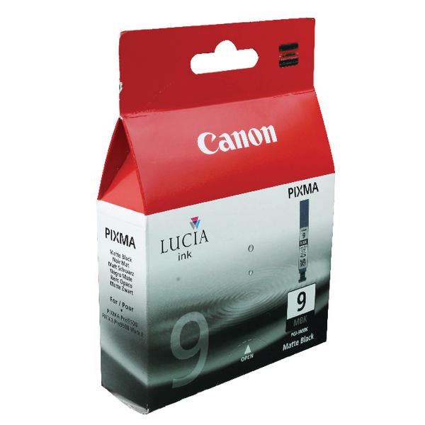 Canon PGI-9MBK Matte Black Inkjet Cartridge 1033B001