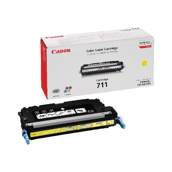 Canon 711 Y Yellow Toner Cartridge 1657B002