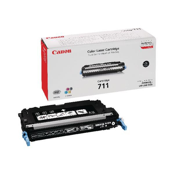 Canon 711 BK Black Toner Cartridge 1660B002