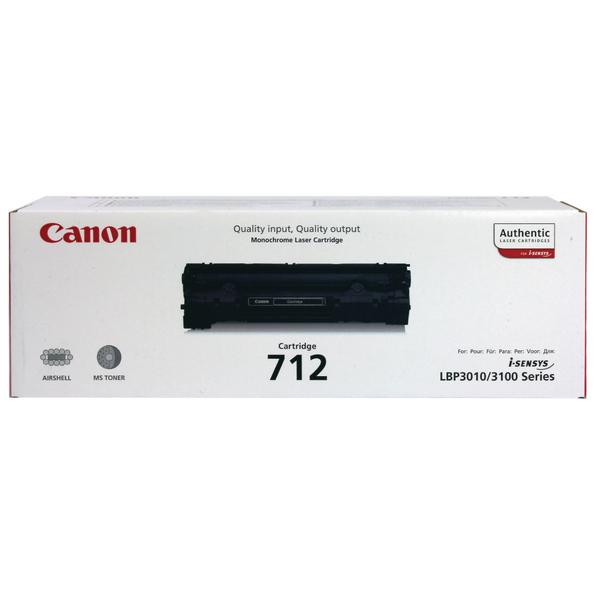 CANON CRG712 LASER TONER CART BLACK