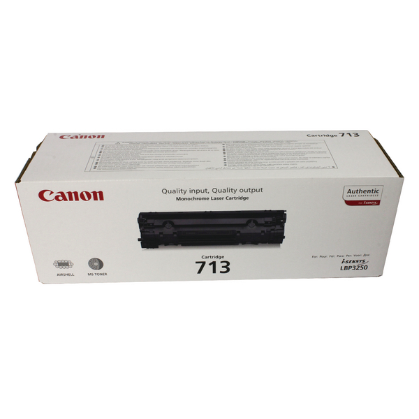 Canon 713 Black Toner Cartridge 1871B002