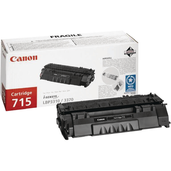 Canon 715 Black Toner Cartridge 1975B002