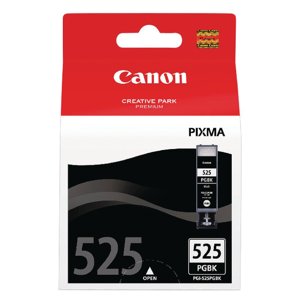 Canon PGI-525 Black Inkjet Cartridges (Pack of 2) 4529B010