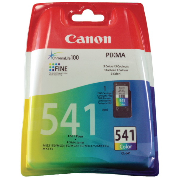 Canon CL-541 Colour Inkjet Cartridge 5227B005