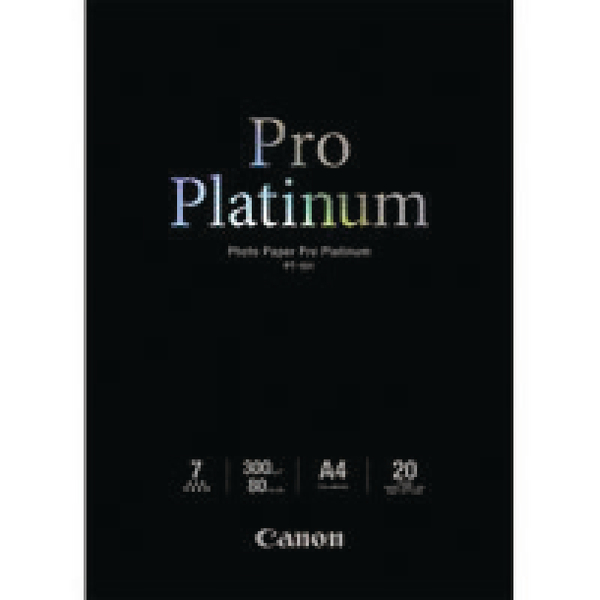 Canon PT-101 A3+ Photo Paper Platinum Pro (Pack of 10) Sheets 2768B018