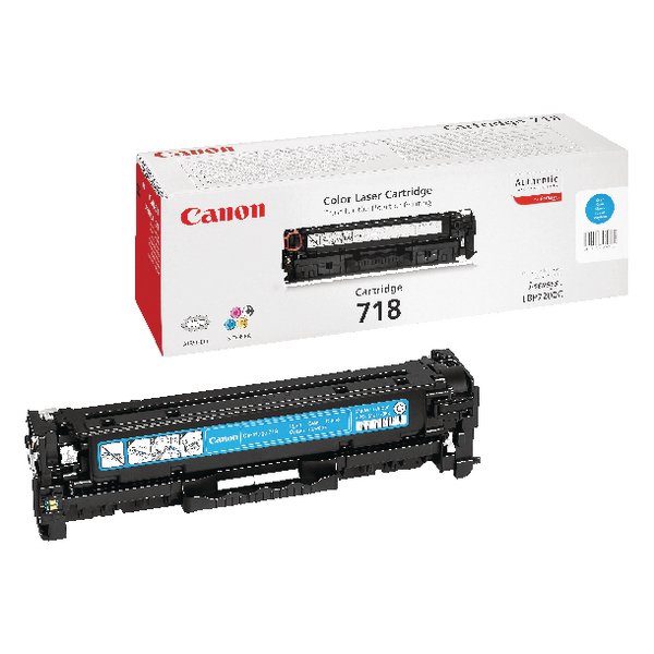 Canon 718C Cyan Toner Cartridge 2661B002