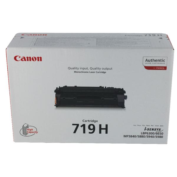 Canon 719H Black Toner Cartridge High Capacity 3480B002