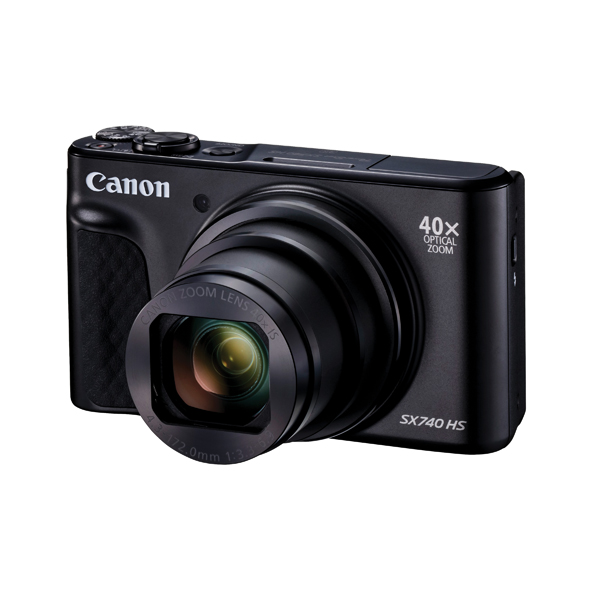 CANON POWERSHOT SX740 BLACK HS CAMERA