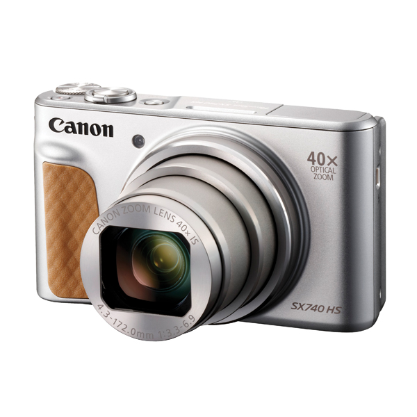 Canon Powershot SX740 Silver HS Camera 2956C011AA