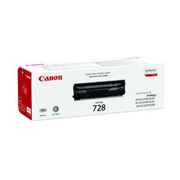 Canon 728 Black Toner Cartridge 3500B002