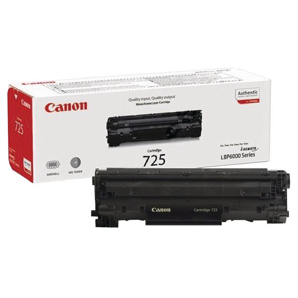 Canon 725 Black Toner Cartridge 3484B002