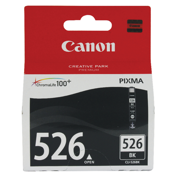 Canon CLI-526BK Black Ink Cartridge 4540B001