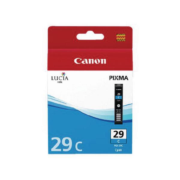 Canon PGI-29 Ink Cartridge For Pixma PRO-1 Cyan 4873B001AA