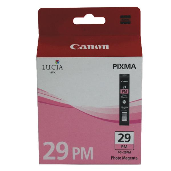 Canon PGI-29 Ink Cartridge For Pixma PRO-1 Photo Magenta 4877B001AA