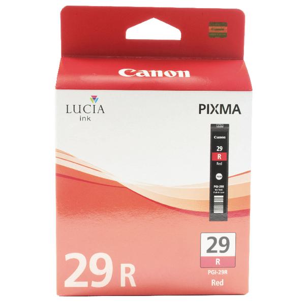 Canon PGI-29 Red Ink Tank 4878B001AA
