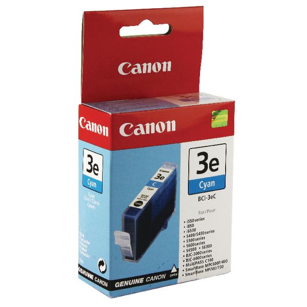 Canon BCI-3eC Cyan Inkjet Cartridge 4480A002