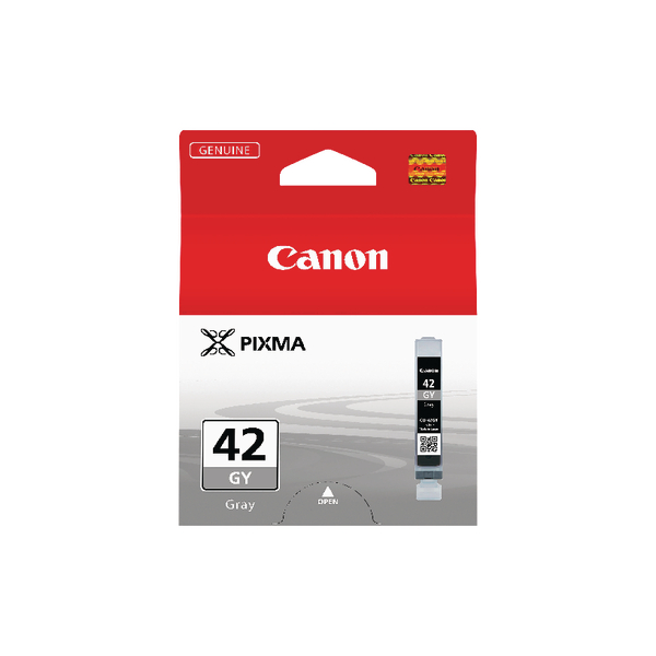 Canon Pixma CLI-42GY Inkjet Cartridge Grey 6390B001