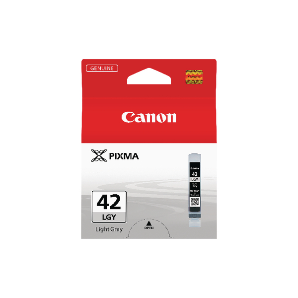 Canon CLI-42LGY Light Grey Inkjet Cartridge 6391B001
