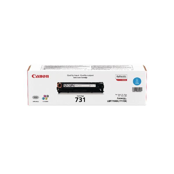 Canon 731C Cyan Toner Cartridge 6271B002