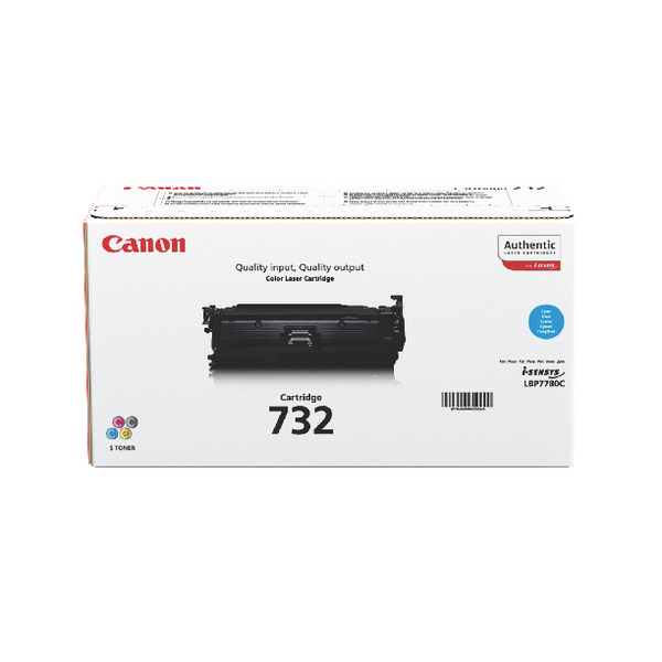 Canon 732 Cyan Toner Cartridge 6262B002