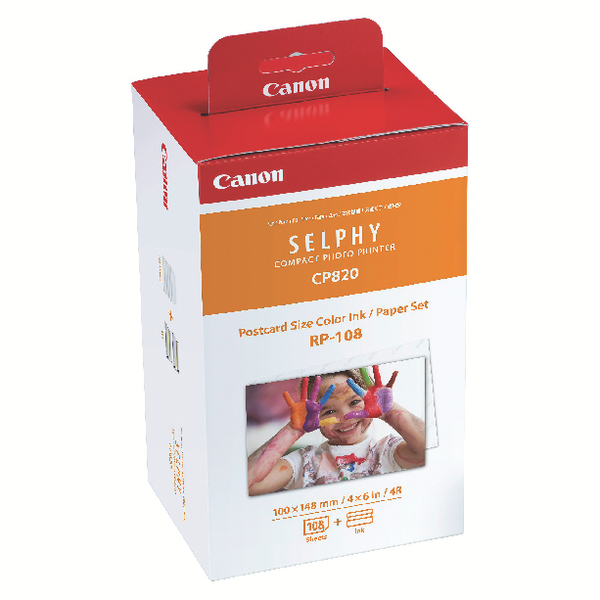 Image for Canon RP-108IP Colour High Capacity Ink/Paper Set 8568B001AA