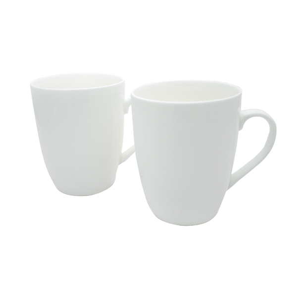 12OZ SQUAT MUGS WHITE PK12