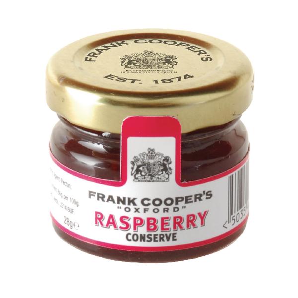 Frank Coopers Mini Raspberry Jam Jar 28g NST764