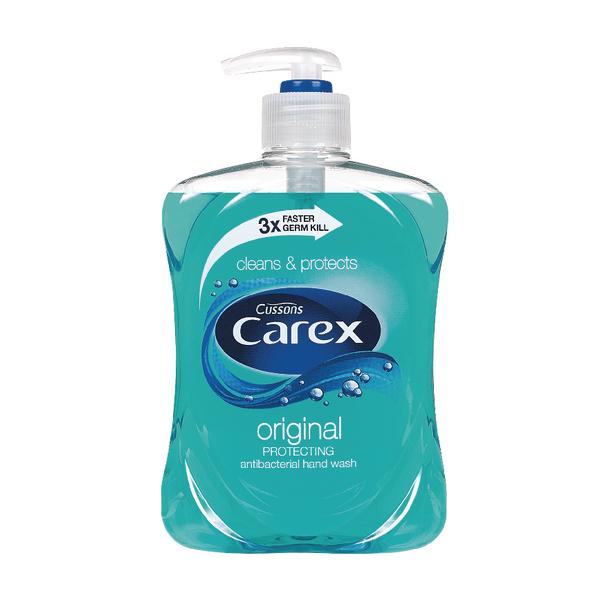 CAREX ANTIBACTERIAL LIQ SOAP 500ML PK2