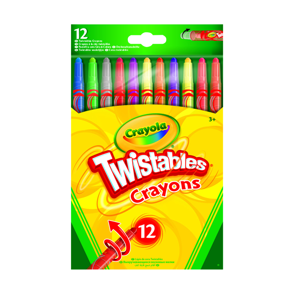 12 Crayola Coloured Pencils (Pack of 6) 52-8530-E-000