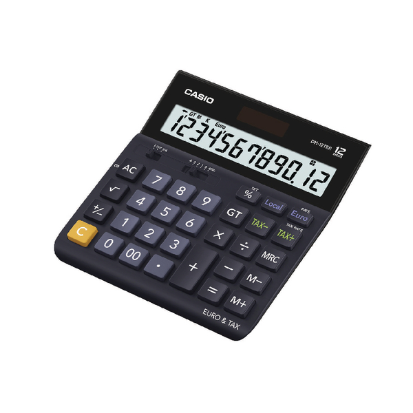 Casio 12 Digit Tax Calc DH-12TER-S-EH