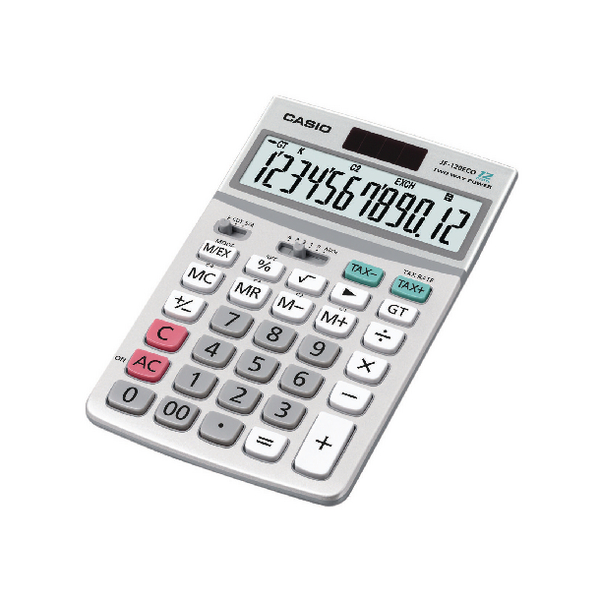Casio Desktop Calculator JF-120ECO
