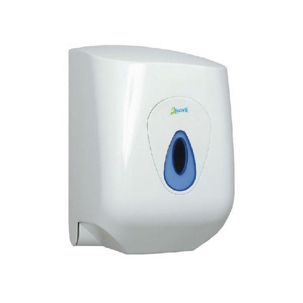 2Work Lockable Centrefeed Hand Towel Dispenser DS922E
