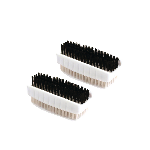 Plastic Nail Brush Twin Pack CL.190/2
