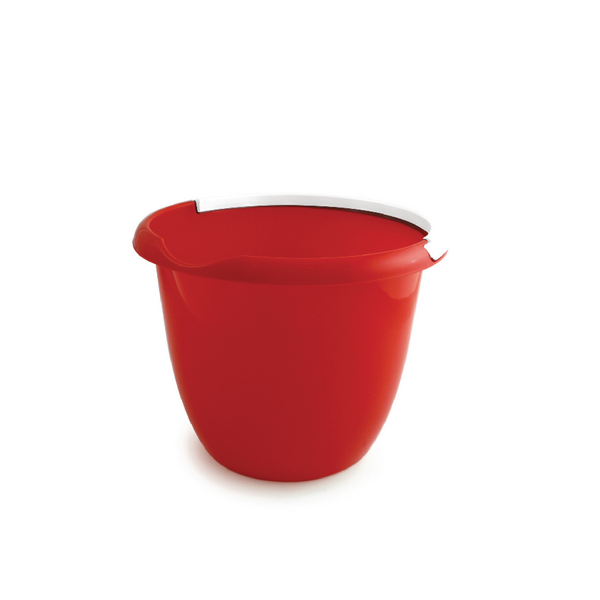 Red 10 Litre Plastic Bucket with Carry Handle BUCKET.10R