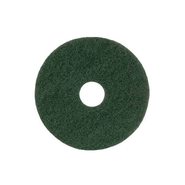 15in Standard Speed Floor Pad Green (Pack of 5) 102603