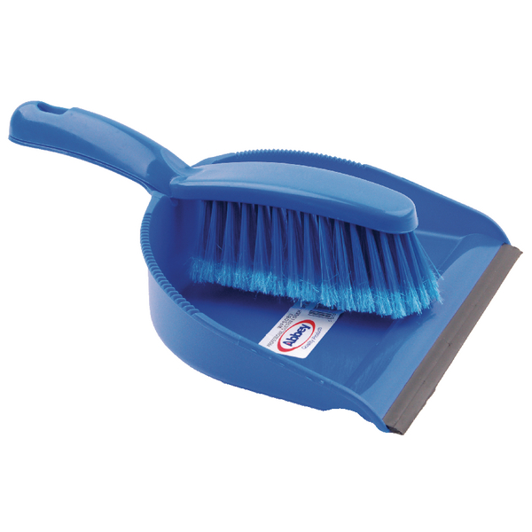 DUSTPAN BRUSH SET BLUE CX03974