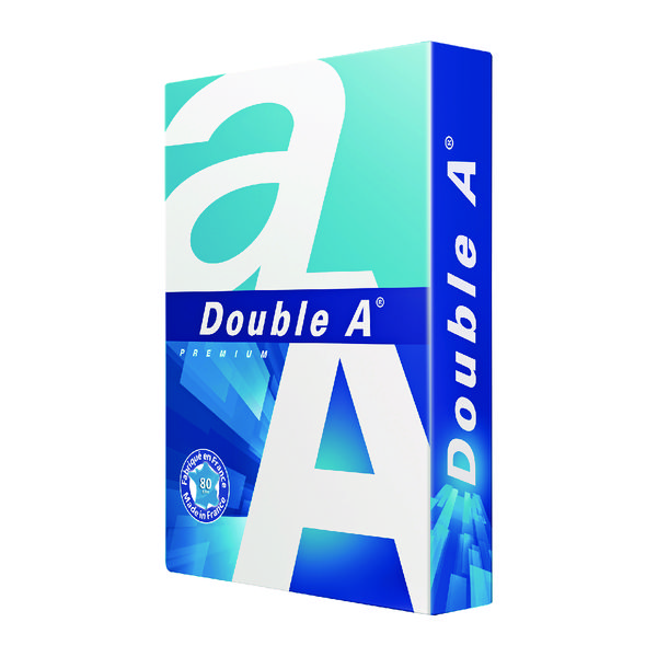 Image for Double A White Premium A3 Paper 80gsm 500 Sheets (Pack of 500) 3613630000134