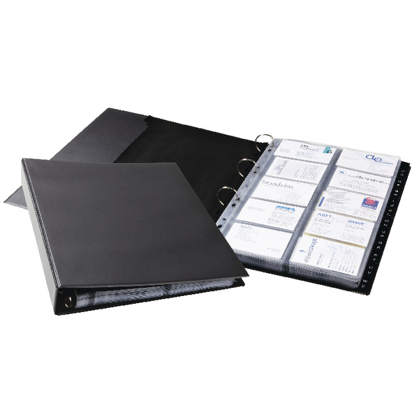 Image for Durable Visifix A4 Eco Business Card Album 2444/01