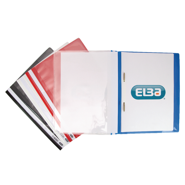 Elba Pocket Report File A4 Assorted (Pack of 25) 400055040