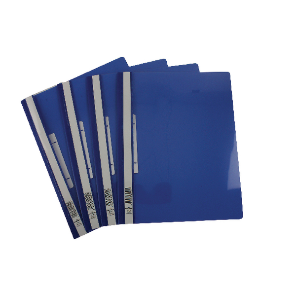 Durable Blue Clear View A4 Folder (Pack of 25) 2580/06