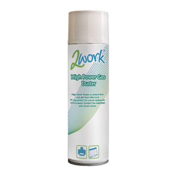 2Work High Power Spray Duster 400ml