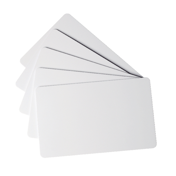 Durable Duracard Standard Blank Cards 0.76mm (Pack of 100) 891502