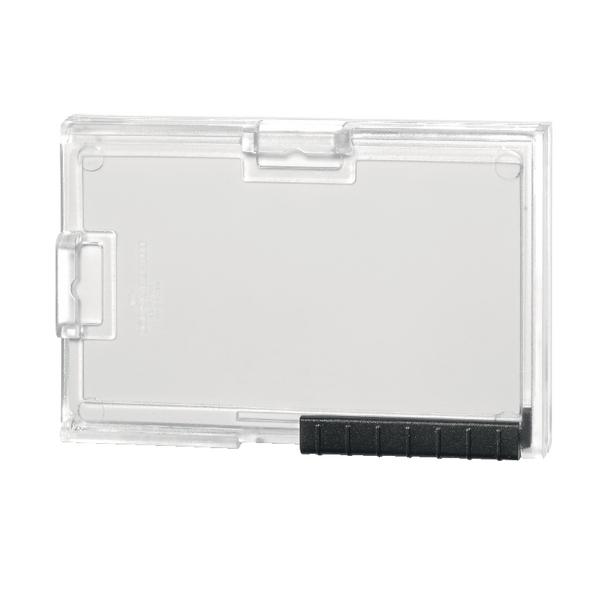 Durable Card Holder Pushbox Trio Transparent 892019