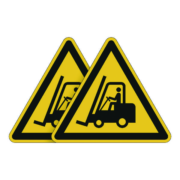 Durable Forklift Truck Area Sign (Pack of 5) BOGOF