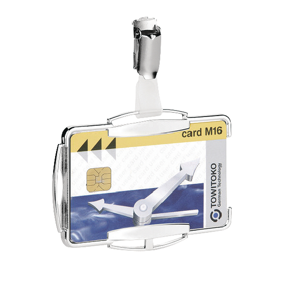 Durable RFID Secure Card Holder Mono (Pack of 10) 8901