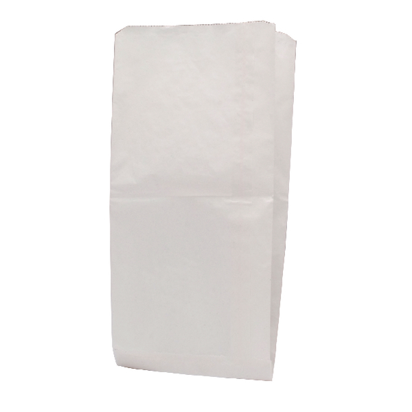 White W216xD152xH279mm 34g Paper Bags (Pack of 1000) 9430019