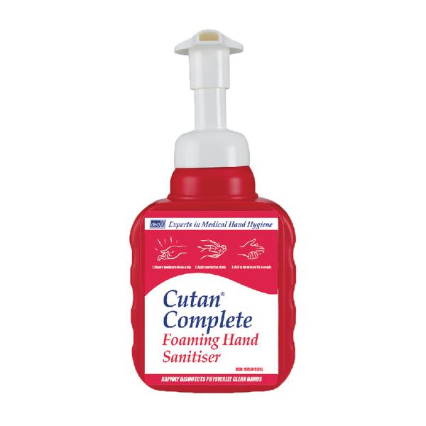 Deb Cutan Foaming Hand Sanitiser Bottle 400ml CFS400P