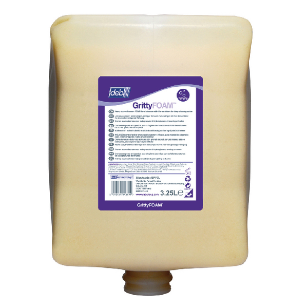 Deb Solopol Gritty Foam 3.25 Litre Cartridge (Pack of 4) GPF3L